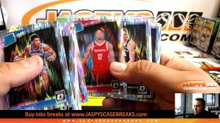 6/18/19 - 2018/19 Panini Donruss Optic Basketball Mega 1/4 Case 5-Box Break #1 EBAY