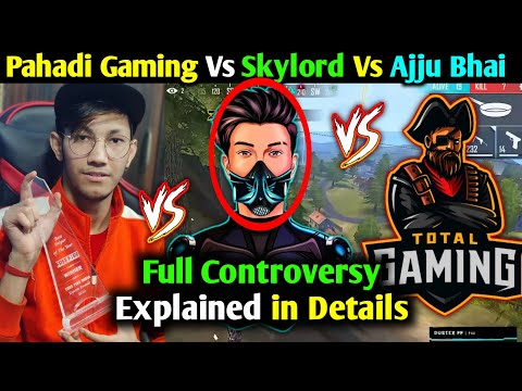 SkyLord LIVE Reply To Total Gaming & Pahadi Gaming – FULL CONTROVERSY IN DETAILS & EXPLAINED