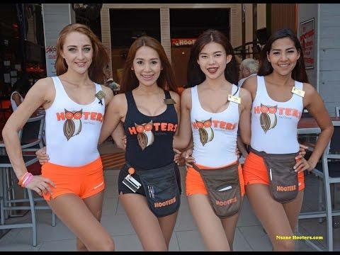 Hooters of Pattaya City Thailand 2017