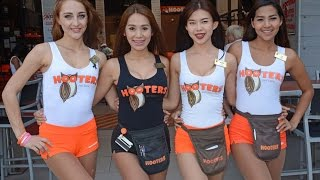 Hooters of Pattaya City Thailand 2017
