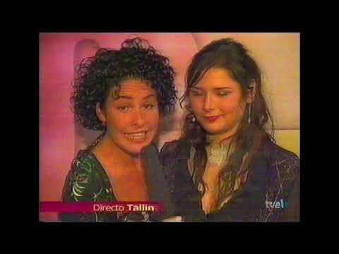 Rosa y Nina tras Eurovisión 2002 'Es cojonudo lo que has hecho, cagoendiez'