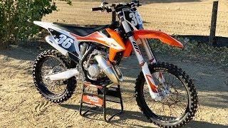 First Ride 2020 KTM 125SX 2 St…