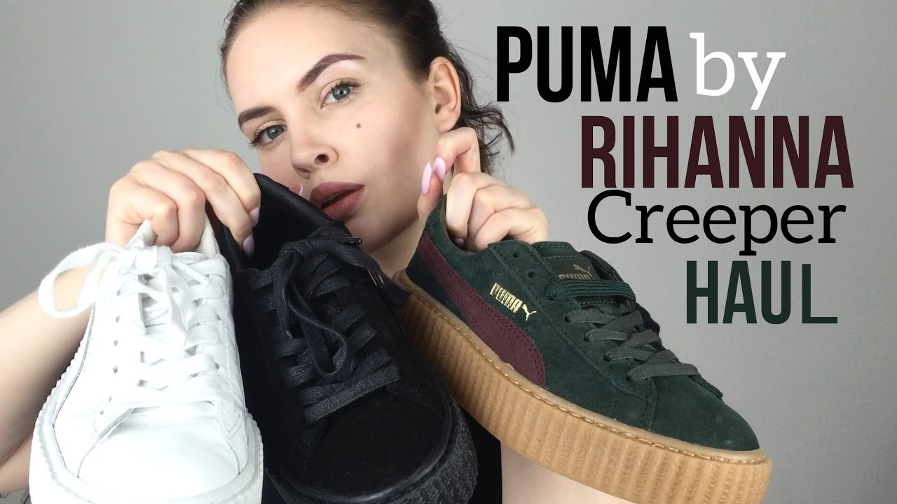 Puma Creepers Schwarz Angezogen lagh