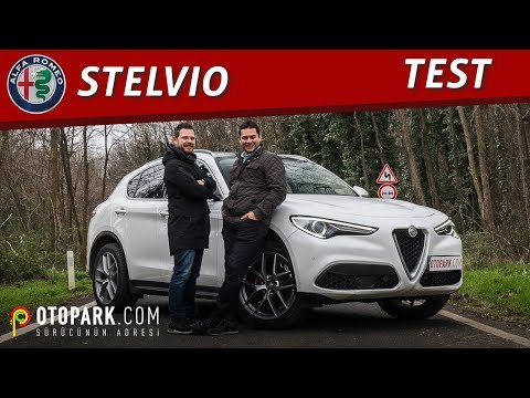 Alfa Romeo Stelvio   TEST