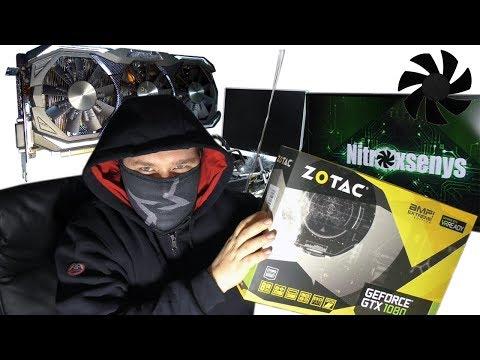 Купил себе Zotac GTX 1080 AMP Extreme
