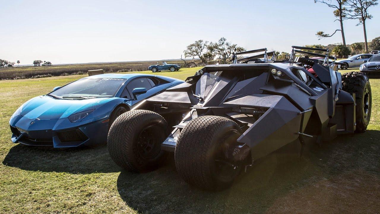 batman tumbler car