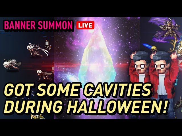 [FFBE]Halloween Pulls Part 4 - Surprised?