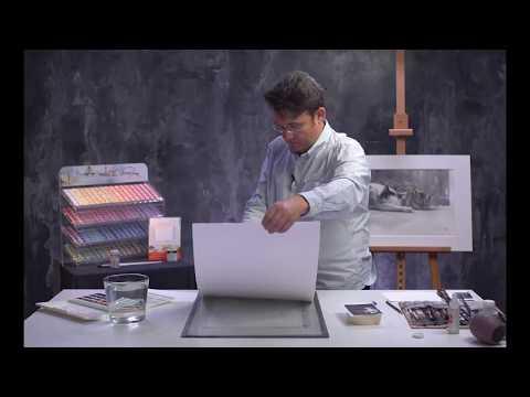 Konstantin Sterkhov's watercolour masterclass. Lesson 6
