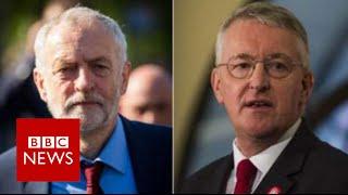 Hilary Benn sacked from shadow cabinet - BBC News