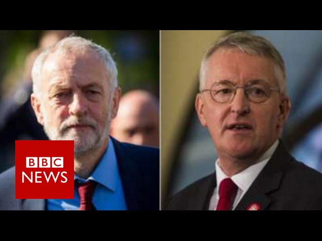 Hilary Benn sacked from shadow cabinet - BBC News