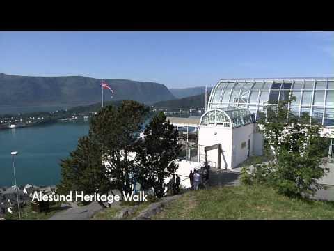 Alesund, Norway Heritage Walk - Baltic Cruise - Cunard
