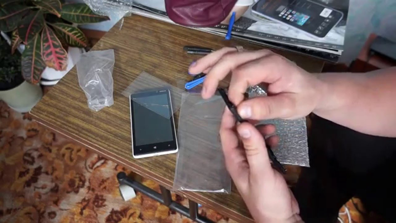 Nokia Lumia 920 замена дисплея - YouTube