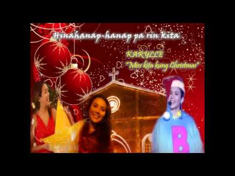Karylle - Miss kita kung Christmas (w/ Lyrics)