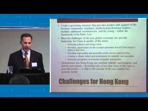 """Reflections on the Hong Kong Democracy Protest: Social Movements, Democracy, and Economic Growth"""