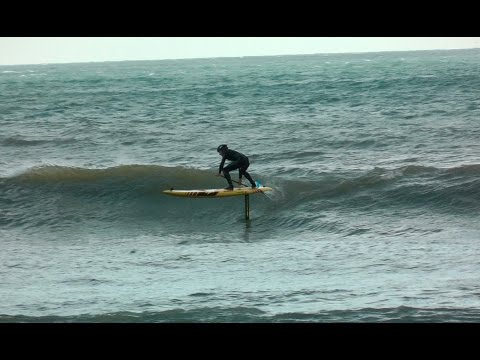 3b50c5b09 Naish Malolo Foil VIDEO blog –   2 First SUP surf session - YouTube