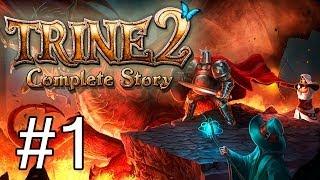 Trine 2 #Ep1 (PS4): O início de uma saga épica! Conheçam o Bruxo, o Guerreiro e a Ladra!