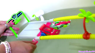 Cars Hydro Wheels Rip Clutchgoneski Splash Speedway Playset World Grand Prix Water Toys Cars2