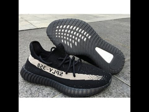 Core Black Yeezy Boost 350 V2 (BY 1604) Fake vs Yeezys For All