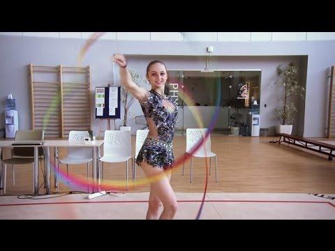 Marina Durunda / Марина Сергіївна Дурунда   Azerbaijani Rhythmic Gymnast   Trans World Sport