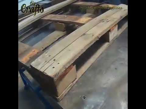 DIY&CRAFT'S- Make a Rustic Wheelbarrow gardon Planter