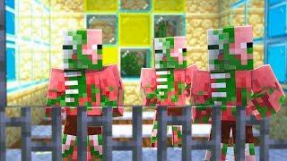 EL PRISIONERO DEL INFIERNO - Minecraft con Noobs