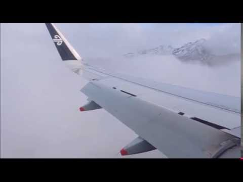RNP 0.1 approach into Queenstown, New Zealand. The highest precision approach currently in use.