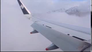 RNP 0.1 approach into Queenstown, New Zealand. The highest precision approach currently in use. thumbnail