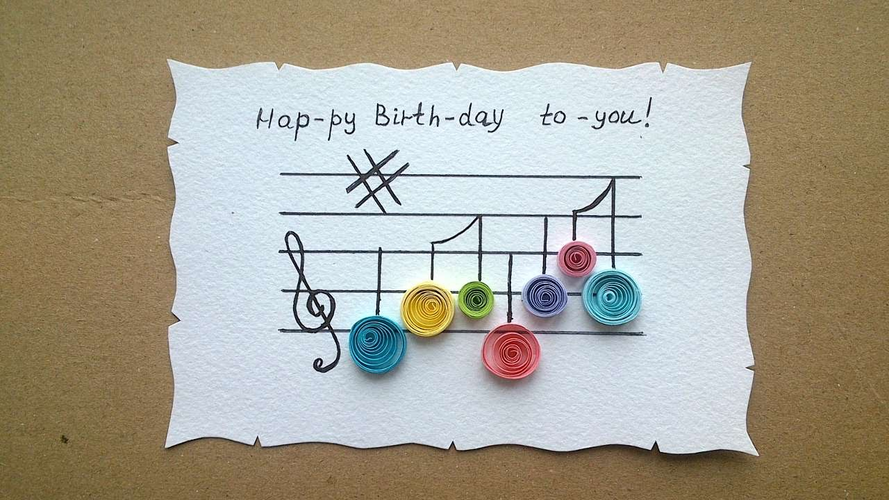 How To Make A Happy Birthday Greeting Card