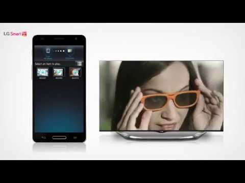 How to Use LG Smart TV SmartShare WiFi Direct With Mobile