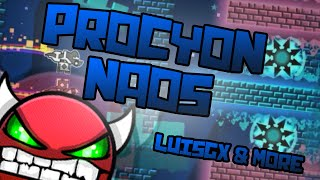 GEOMETRY DASH | (Easy Demon) Procyon Naos by LuisGX12, Feko9 (me) & many others [2.0]
