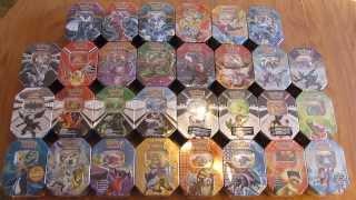 primetimepokemon is opening 30 pokemon card tins
