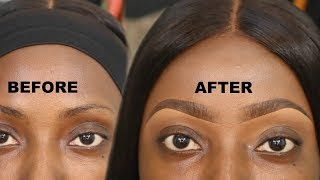 EYEBROW TUTORIAL | 2019 EYEBROW TUTORIAL | BEAUTYBYBEMI