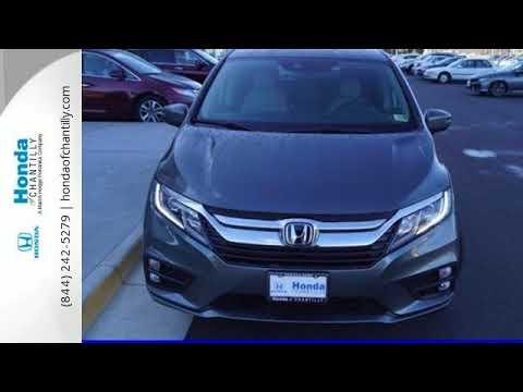 Honda Of Chantilly >> New 2018 Honda Odyssey Washington Dc Md Chantilly Dc Hcjb041533 Sold