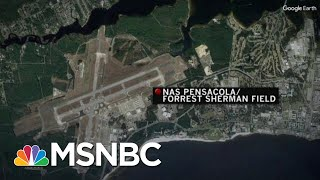 At Least 3 Killed, Suspect Dead In Pensacola Naval Air Station Shooting | Craig Melvin | MSNBC