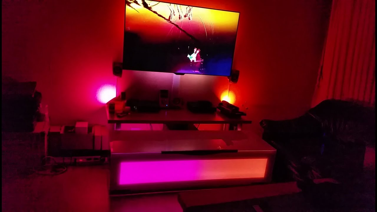Tv Ambilight Philips 4 K 2 Philips Hue Bloom 2 Philips
