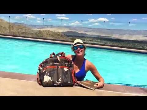 Shawn Killinger - sporting Lug® poolside in Palm Springs