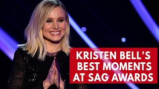 Download Mp3 Kristen Bell's Best Moments Hosting Sag Awards 2018
