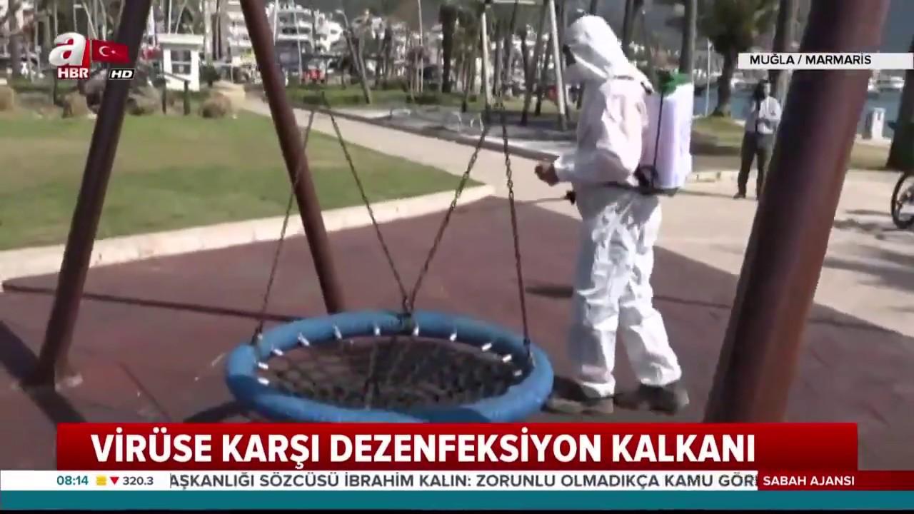 Türkiye'de Koronavirüs Temizliği! / A Haber
