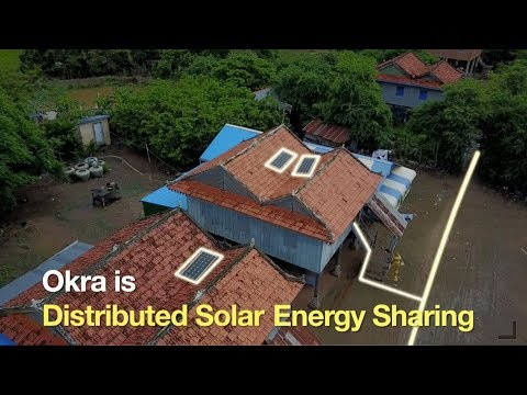 Okra - Distributed Solar Energy Sharing