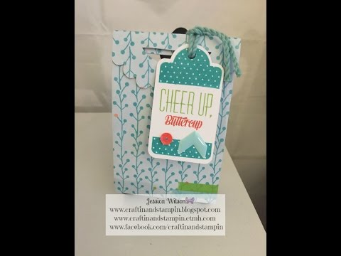 """Goodie Box-Artiste, Art Philosophy, and Hostess Only """"Tagged With Love"""" Stamp Set"""