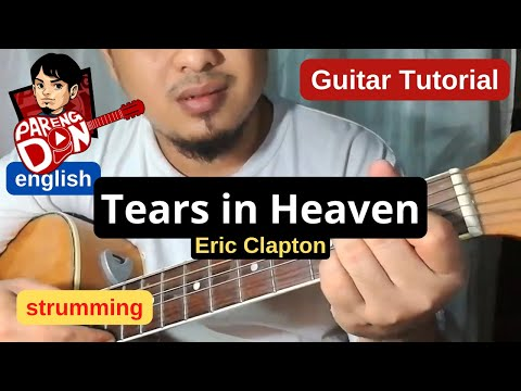 Guitar tutorial: Tears in Heaven - Easy Chords (Eric Clapton ...