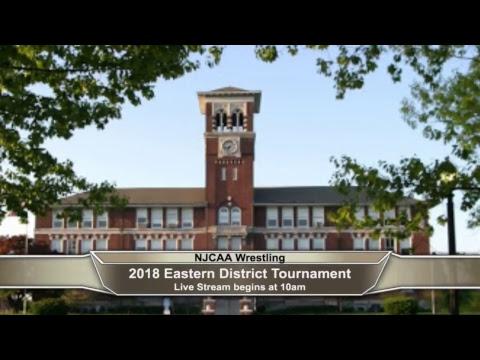 2018 NJCAA Wrestling Eastern District Championships promo
