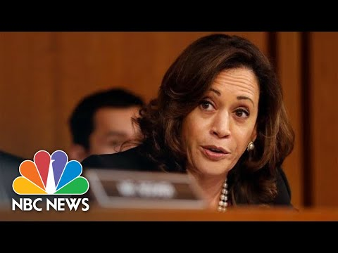 Senator Kamala Harris Grills Brett Kavanaugh On Robert Mueller Investigation | NBC News