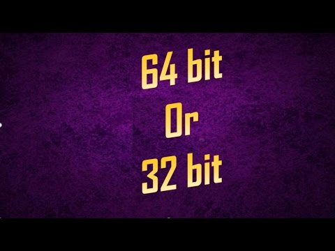 how to find your computer 32 bit or 64 bit