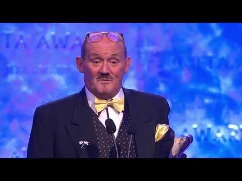 Brendan O'Carroll  Lifetime Achievement for Comedy Recipient IFTA Gala Television Awards 2015