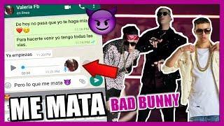 """BROMA a MI AMIGA con letra de CANCION """"ME MATA"""" Bad Bunny Arcangel, Noriel"""