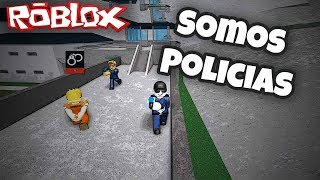 😂 Life of police - Roblox prison life Roblox in Spanish
