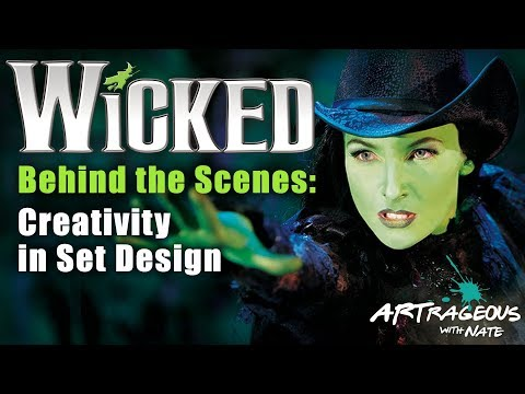 Behind the Scenes of Wicked: Creativity in Set Design
