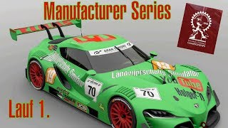 GT Sport FIA Championships 2019 Exhibition Manufacturer Series  Lauf 1