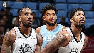Los Angeles Clippers vs Minnesota Timberwolves - Full  Highlights | December 13 | 2019-20 NBA Season